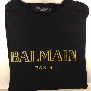 Other - Balmain Black Shirt
